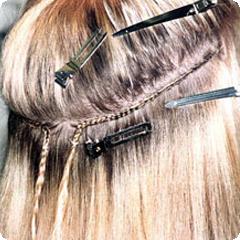 Технология  наращивания волос методом тресс или Афронаращивание