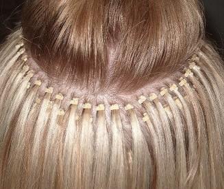 английская технология наращивания волос
