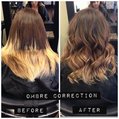 брондирование волос фото до и после