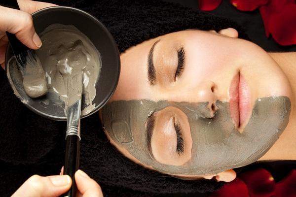 маска  для лица черная глина