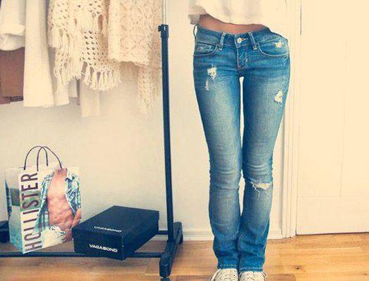Як правильно порвати джинси