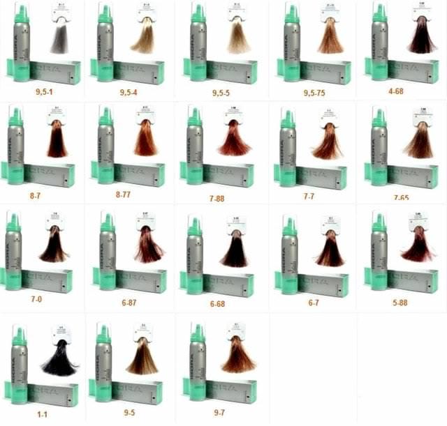 оттеночные Krasa от Faberlic