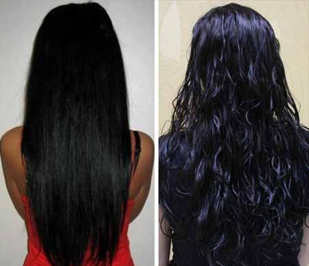 карвинг волос фото до и после