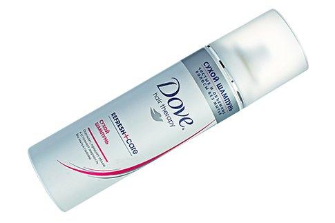 Сухой шампунь DOVE Hair Therapy Refresh+Care, Италия