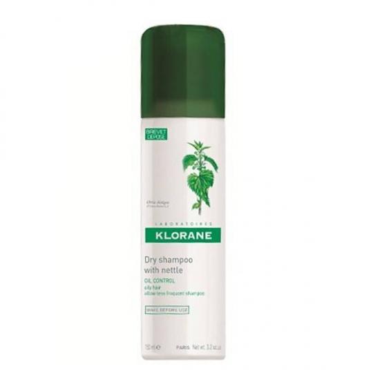 Сухой шампунь Klorane Nettle Sebo-Regulating Dry Shampoo for Oily Hair (с экстрактом крапивы для жирных волос)