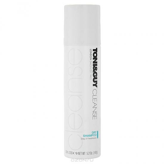 Сухой шампунь Toni&Guy Cleanse Dry Shampoo Мгновенная свежесть