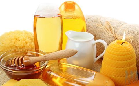 Маска с мёдом для волос