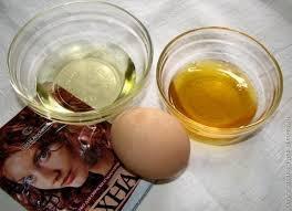 Маска для волос с хной, мёдом, желтком