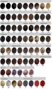 Палитра красок для волос Краска Kapous Professional