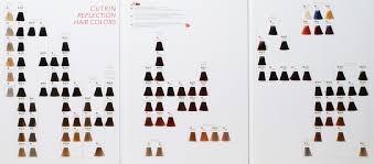 Палитра красок для волос Cutrin RHC