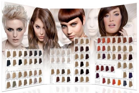 Палитра красок для волос Keune Tinta Color