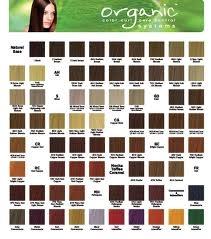 Палитра красок для волос Organic Color System