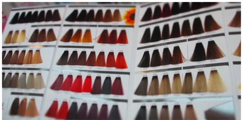 Палитра красок для волос SHOT DNA