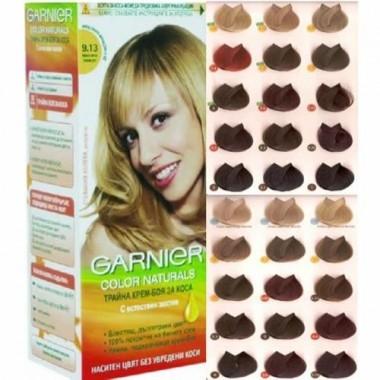 Палитра красок для волос Garnier Color Sensatoin