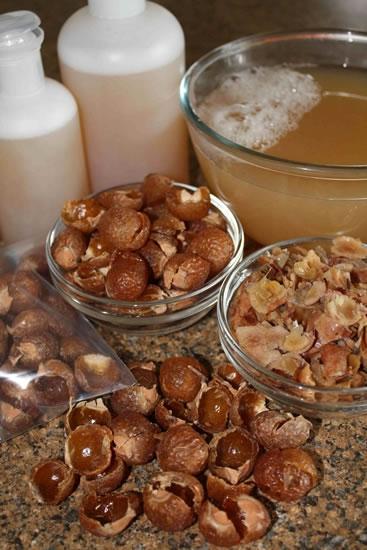 Мыльные орехи для мытья волос