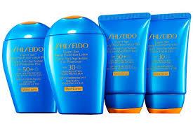 Солнцезащитная серия Shiseido