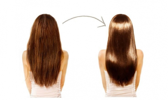 Ботокс для волос: до и после