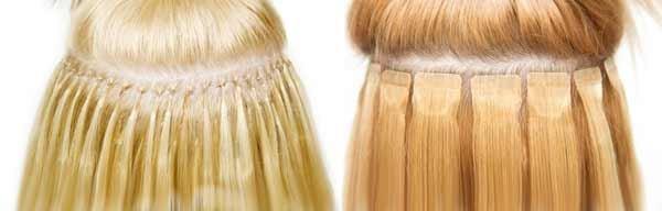 Стрічкове нарощування волосся. Переваги і недоліки процедури. Види технік і поради по відношенню штучної шевелюри