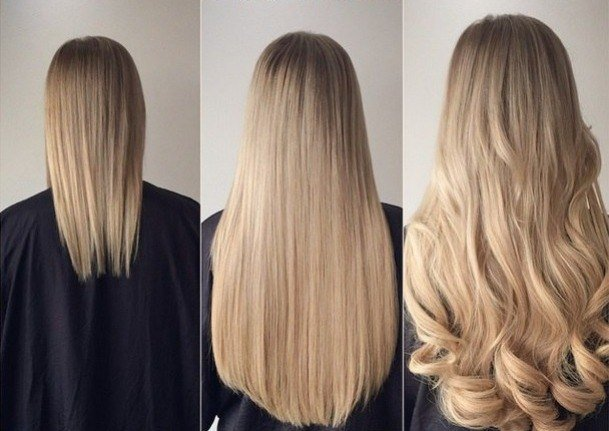 Голлівудське нарощування волосся. Переваги та протипоказання процедури. Техніка проведення та поради по догляду за локонами