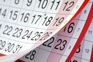 Календарный метод расчета