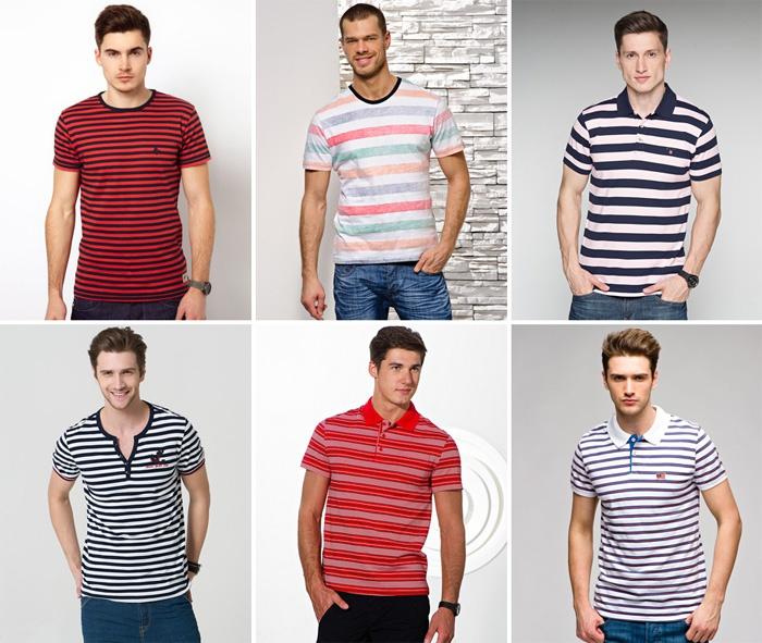 Фото полосатых футболок 2015