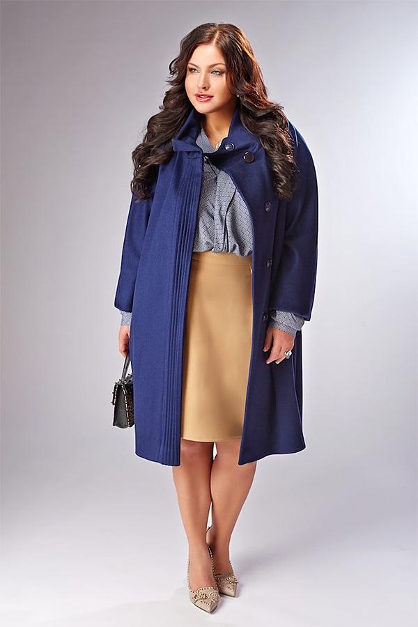 Photo of Пальто для повних жінок — моделі на зиму 2018-2019
