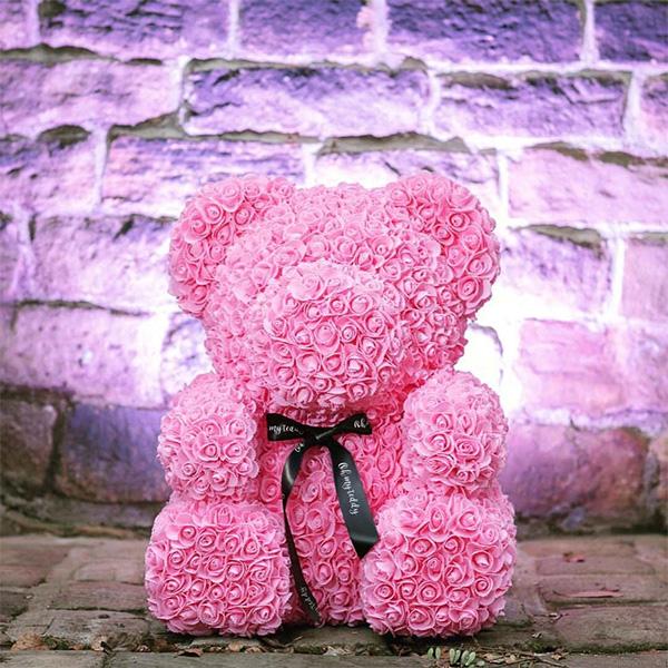 Photo of Мишко з троянд — розкішний подарунок для дорогої людини