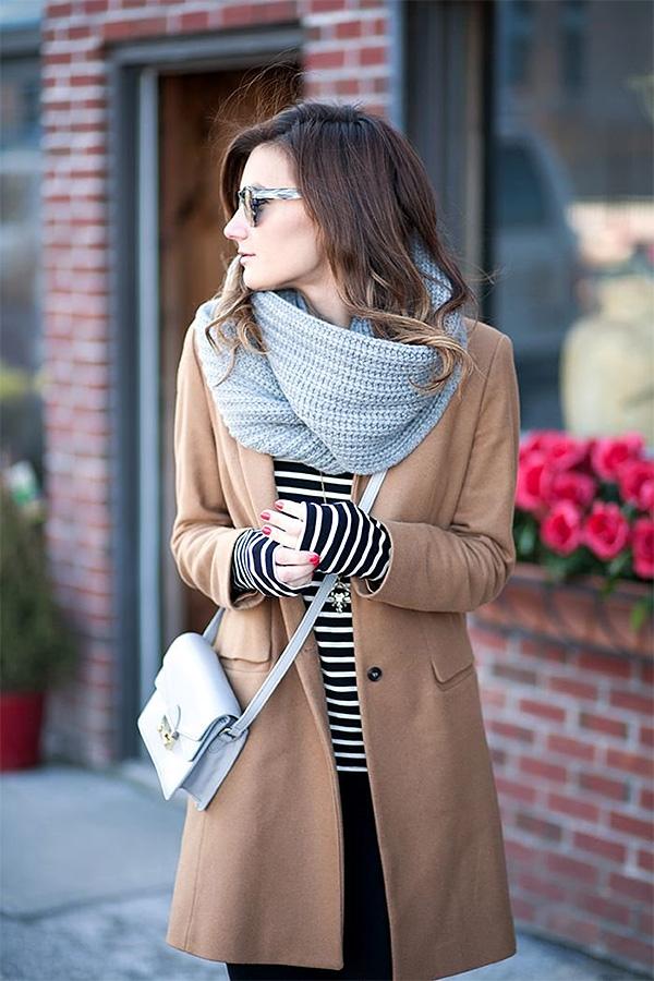 Photo of Як красиво зав'язати шарф на пальто