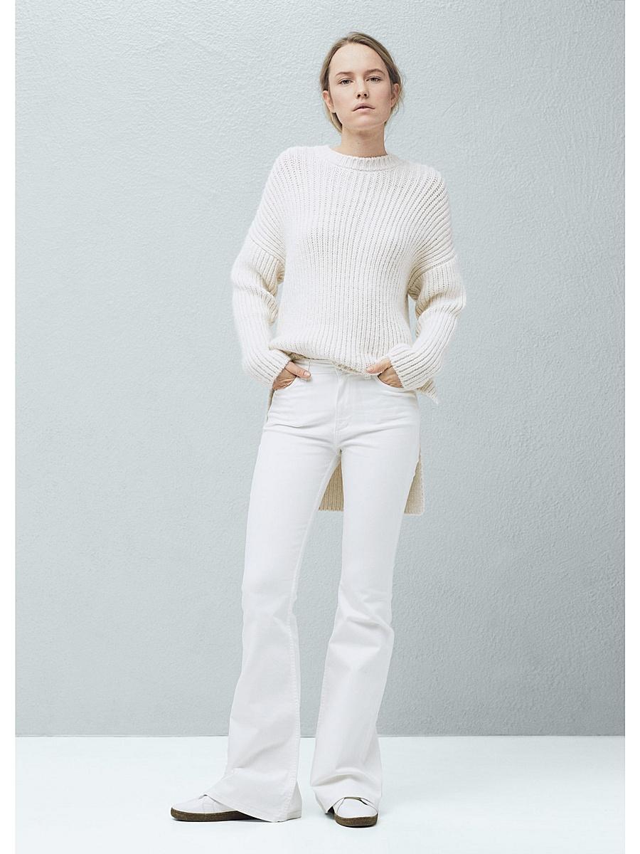 Модні жіночі джинси. З чим носити білі джинси 510b73b91ee82