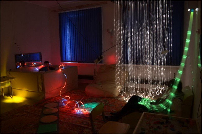 Що таке сенсорна кімната