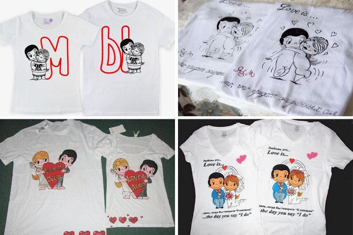 Парні футболки love is 8e82b15537b72