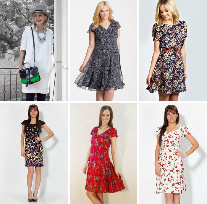 Літні сукні-туніки з коротким рукавом. Плаття для літніх жінок f41a47e059073