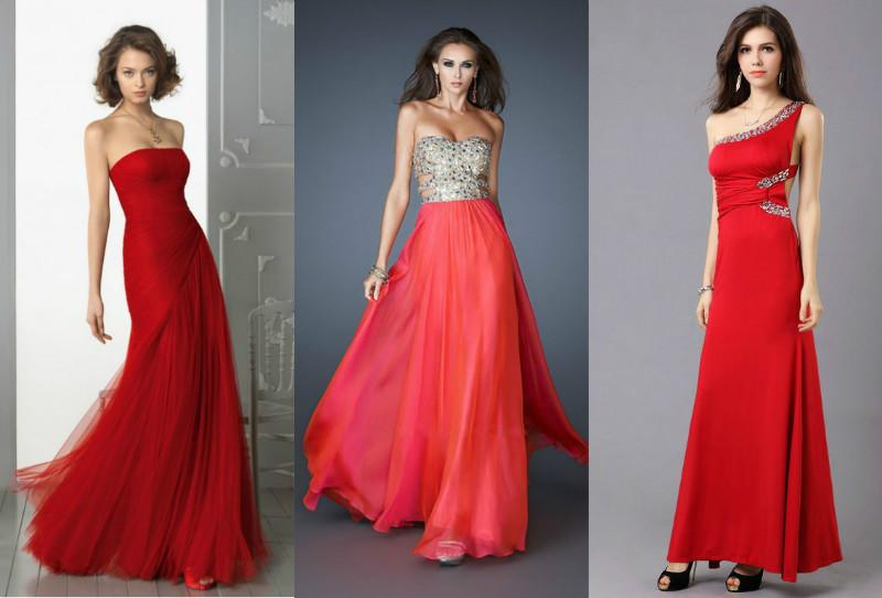 Червоне вечірнє плаття — кращий вибір для модниць c533bfbf57954