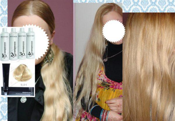 Селектив краска для волос палитра