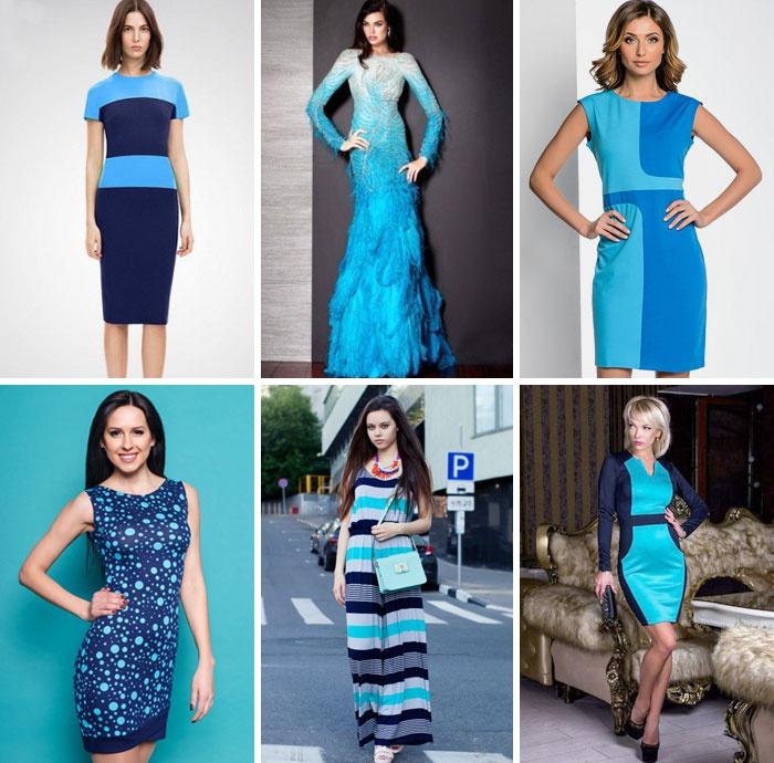 f72849d6efe3a7 Блакитне літнє плаття