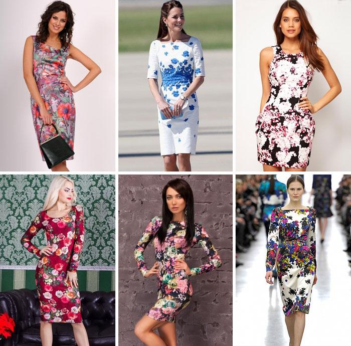 a14ae98e75e540 Літні сукні з квітковим принтом