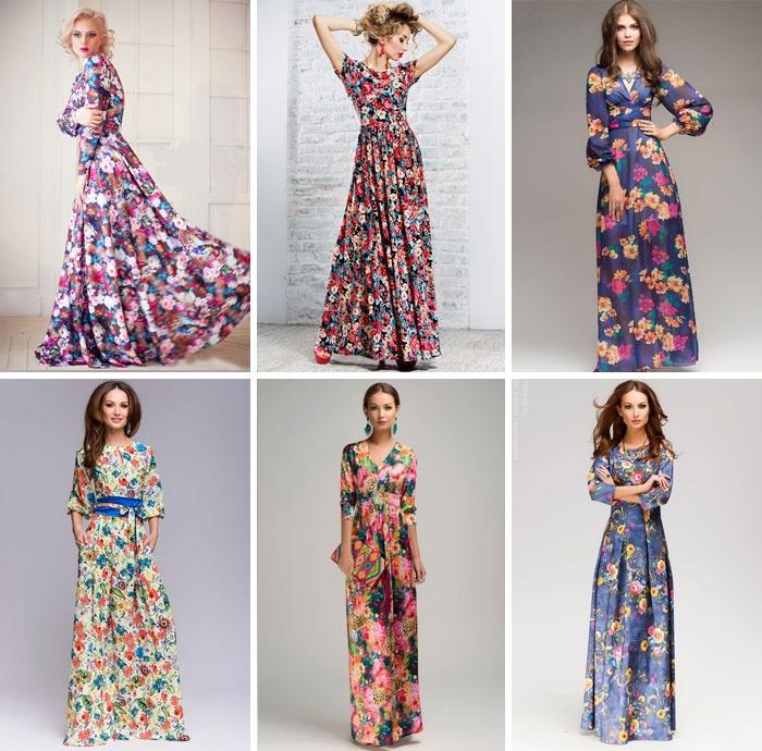 Літні сукні з квітковим принтом 9b2169a0eeb5f