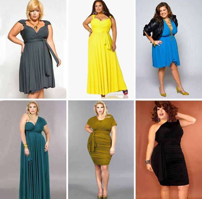 Платья трансформер для полных женщин