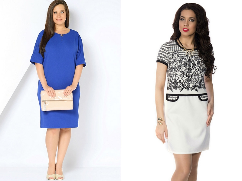 Однак на будь-якому модному показі одягу в форматі плюс сайз можна побачити  моделі класичного сукні-футляр. Фото в журналах в нарядах такого фасону ... e5a6a75a3cdb0