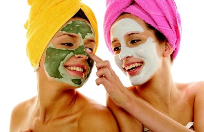Отшелушивающие маски для обличчя