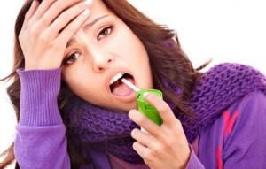Что делать, если болит горло при беременности