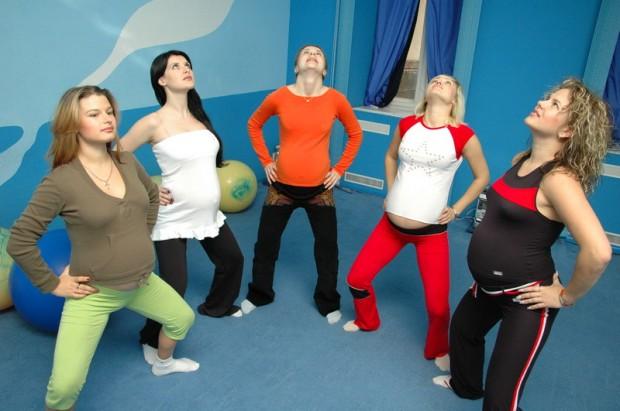 Гимнастика для беременных во 2-м триместре