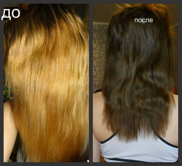 Индола краска для волос палитра
