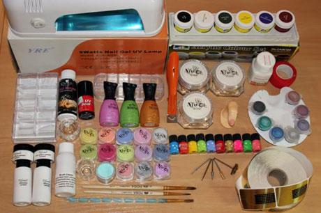 Список материал для наращивания ногтей в домашних условиях 220