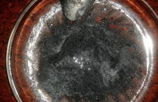 Маска с активированным углем для лица