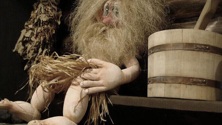 Кукла банщика-парильщика