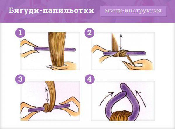 Бигуди папильотки как пользоваться