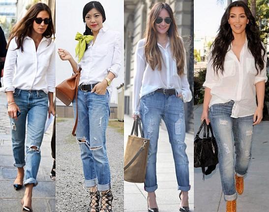 З чим носити джинси бойфренди 7fcbf2d288724