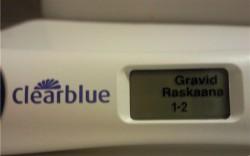Использование теста на беременность Clearblue