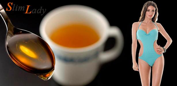 Почему худеют от чая с медом